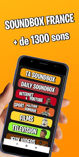 Soundbox France : Soundboard Ultime  screenshots 1