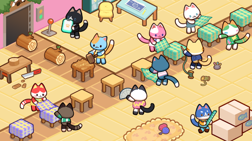 Kitty Cat Tycoon : make cat tree 1.0.6 screenshots 1