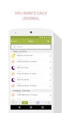 Baby Breastfeeding Tracker screenshot thumbnail
