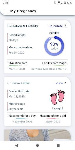 My Pregnancy Tracker Week by Week + Due Date 2.0.36 Screenshots 7