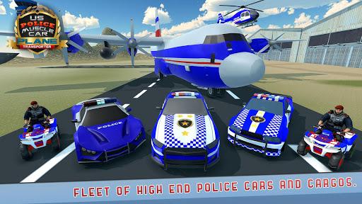 US Police Muscle Car Cargo Plane Flight Simulator 4.7 screenshots 22
