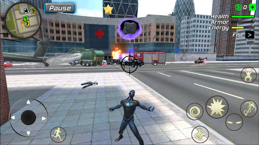 Black Hole Hero : Vice Vegas Rope Mafia android2mod screenshots 2