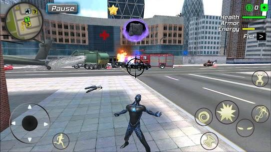 Black Hole Hero Mod Apk: Vice Vegas Rope Mafia (Unlimited Mana) 2