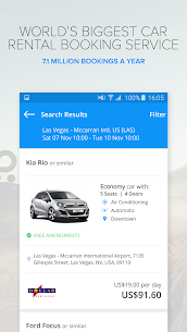 Rentalcars.com Car Rental App 4