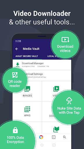 AVG Browser: Fast Browser + VPN & Ad Block 4.0.52 Screenshots 5