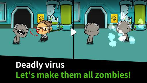 Happy Zombie Virus: Idle Merge Game 1.12 screenshots 2