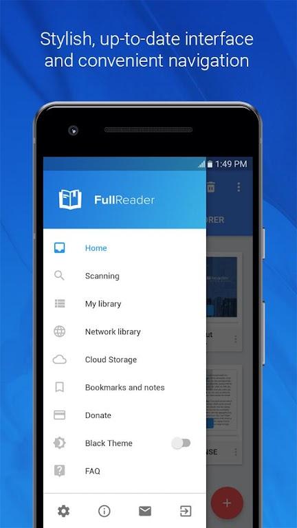 FullReader - all e-book formats reader  poster 0