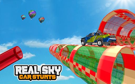 Mega Car Ramp Impossible Stunt Game  Screenshots 8