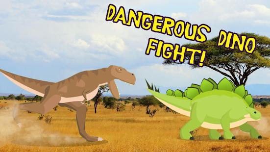 T-Rex Fights Stegosaurus 0.10 Pc-softi 1