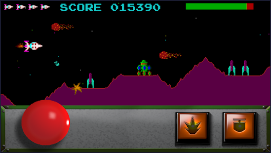 Classic Scramble Arcade Screenshot