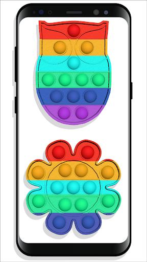 pop it Fidget Cubes - calming sounds making toys screenshots 13