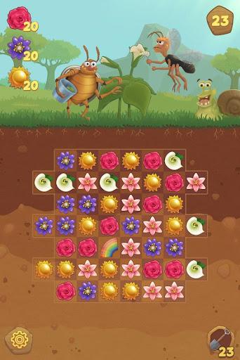 Flower Book: Match-3 Puzzle Game screenshots 1