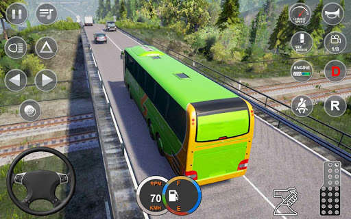 Euro Bus Driving Simulator : Bus Simulator 2020 android2mod screenshots 1