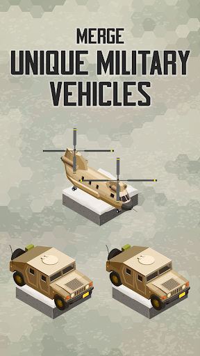 Merge Military Vehicles Tycoon apklade screenshots 2