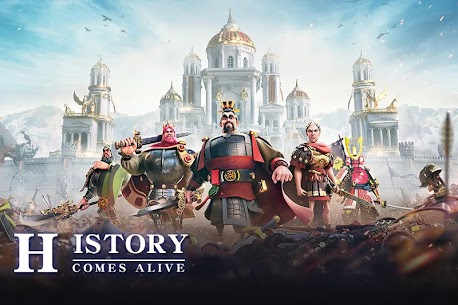 Download Rise of Kingdoms: Lost Crusade MOD Apk [Unlimited Money] 2