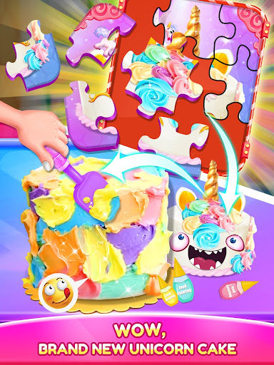 Unicorn Food - Cake Bakery 2.1 Screenshots 8