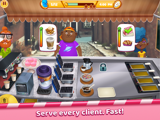 Boston Donut Truck - Fast Food Cooking Game screenshots 12