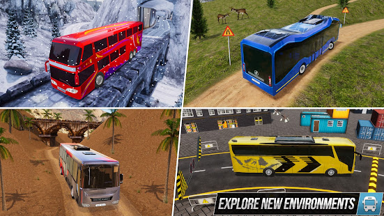 Modern Bus Simulator New Parking Games u2013 Bus Games 2.78 Screenshots 23