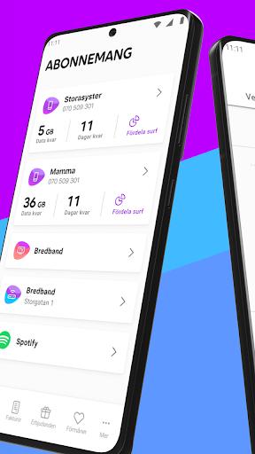 Mitt Telia android2mod screenshots 2