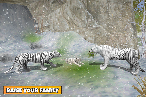 Snow Tiger Family apkmr screenshots 6