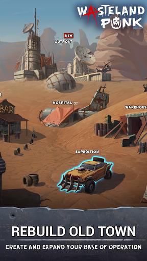 Wasteland Punk: Post Apocalypse RPG Survival Game  screenshots 8