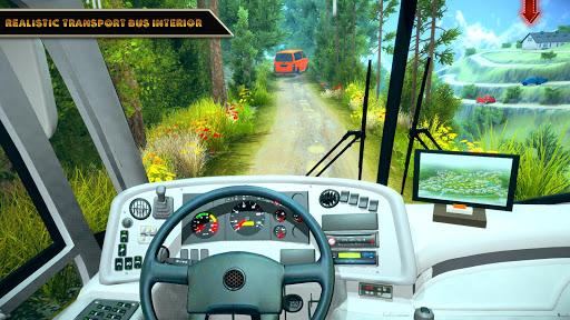 Offroad Bus Driving Simulator 2019: Mountain Bus apktram screenshots 7