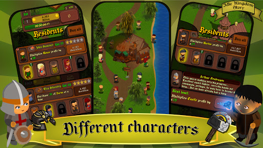 Idle Kingdom Story: Medieval Tycoon Clicker 1.1.8 screenshots 5