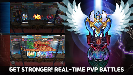Raid the Dungeon : Idle RPG Heroes AFK or Tap Tap apkmr screenshots 22