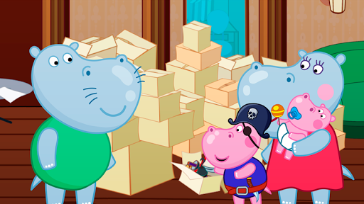 Hippo in Seahouse: Hidden Objects for Kids  screenshots 2