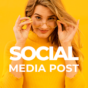 Social Media Post Maker, Poster & Graphic Design