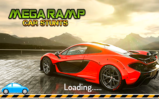 Mega Stunt Car Race Game - Free Games 2020 3.5 screenshots 6