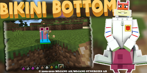 Code Triche New Bikini Bottom Map: More Food Mod  APK MOD (Astuce) screenshots 1