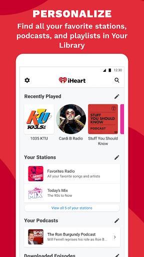 iHeart: Radio, Music, Podcasts android2mod screenshots 7