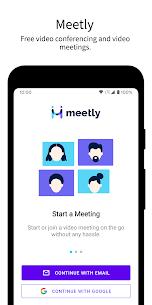 Ücretsiz Meetly – Free Video Conferencing  Video Meeting 1