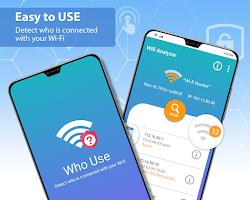 Detect WiFi Users - Wi-Fi Spy and Analyzer