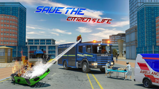 Police Tow Truck Driving Simulator 1.3 screenshots 15