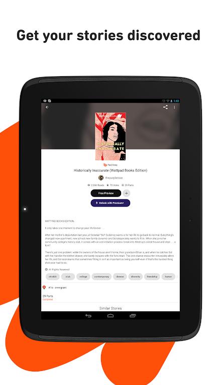 Wattpad - Read & Write Stories  poster 6