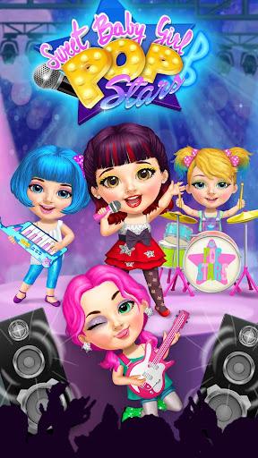 Sweet Baby Girl Pop Stars - Superstar Salon & Show 3.0.10004 screenshots 2