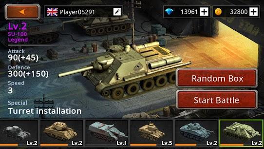 Battle Tank2 APK MOD HACK (Monedas Ilimitadas) 5