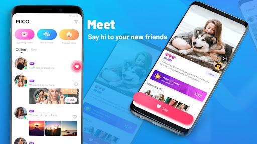 MICO: Make Friends, Live Chat and Go Live Stream apktram screenshots 3