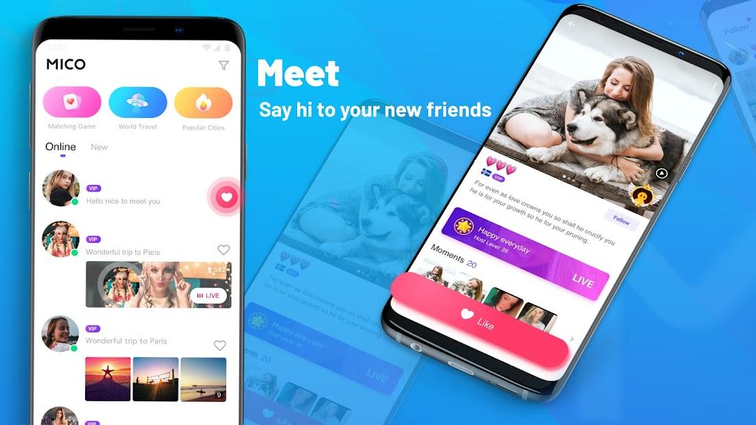 MICO: Make Friends, Live Chat and Go Live Stream screenshot 2