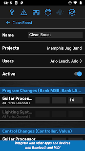 BandHelper: Set Lists and More Screenshot