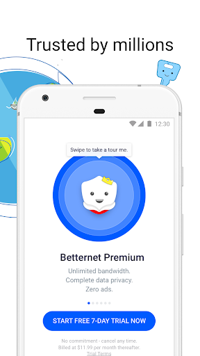 VPN Free - Betternet Hotspot VPN & Private Browser 5.8.0 Screenshots 12