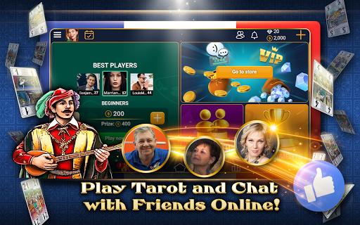 VIP Tarot - Free French Tarot Online Card Game 3.7.5.30 screenshots 11