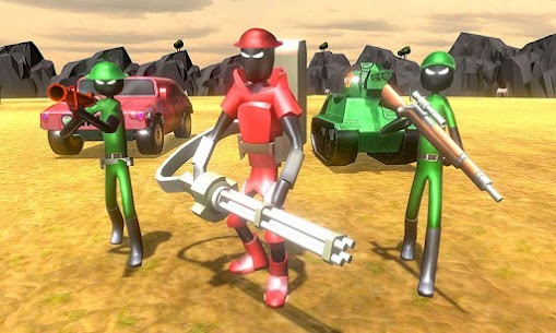 Battle Simulator World War 2 – Stickman Warriors 1.8 Mod + Data (APK) Full 2