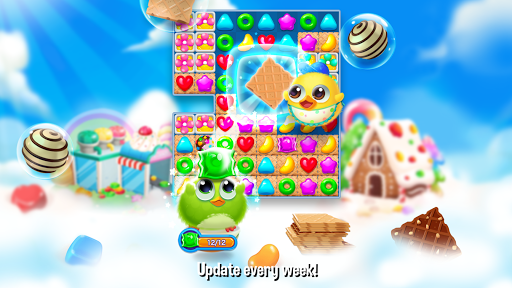 Bird Friends : Match 3 & Free Puzzle modavailable screenshots 13