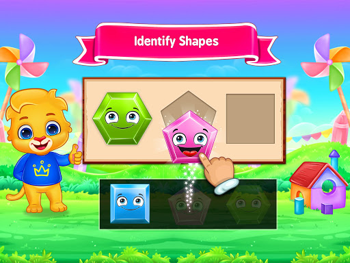 Colors & Shapes - Kids Learn Color and Shape screenshots 10