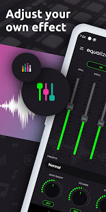 Equalizer, Music Volume Booster, Bass Booster, EQ