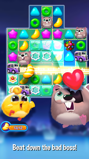Bird Friends : Match 3 & Free Puzzle modavailable screenshots 3