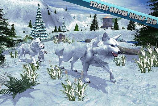 Arctic Wolf Family Simulator: Wildlife Animal Game 2.2 screenshots 1